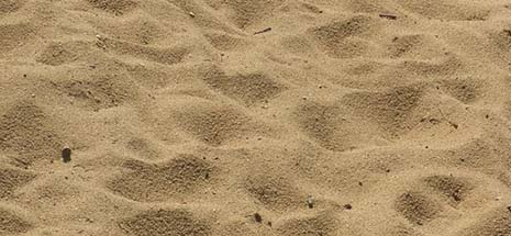 isolatie met zand
